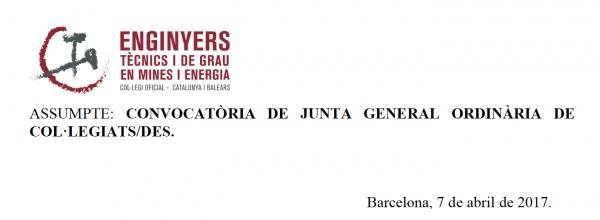 Junta General Ordinaria