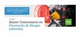 És el moment d'inscriure't al Màster Universitari en Prevenció de Riscos Laborals!